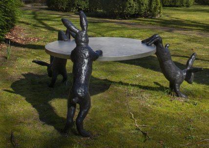 Alle zintuigen op AAN in de tuin van Museum Kranenburgh